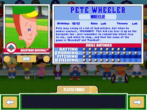 pete wheeler backyard baseball viva la vita backyard baseball 2001 draft first round