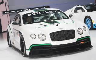Bentley Race Updated Bentley Continental Gt3 Race Car Previews