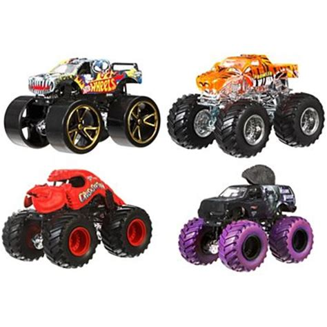 mattel jam trucks wheels jam toys vehicles playsets wheels