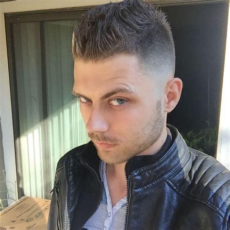 haircutting faux hawk clipper cut fade haircut hairs picture gallery