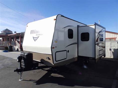 power awning rv 2018 new forest river rockwood 2104s 1 slide front