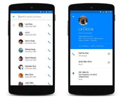 contacts app for android launches hello a new dialer and contacts app for android
