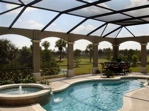 enclosed pools pool screen enclosures by screen crafters of orlando