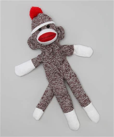 sock monkey puppet