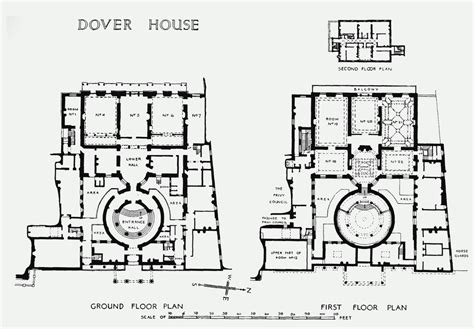Parliament House Floor Plan by Plate 47 Dover House Ground And First Floor Plans