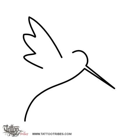 simple hummingbird tattoo of minimal hummingbird carpe diem custom