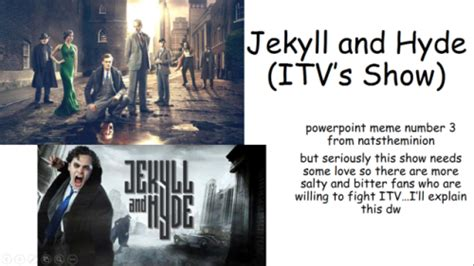 jekyll and hyde itv theme itv jekyll and hyde tumblr