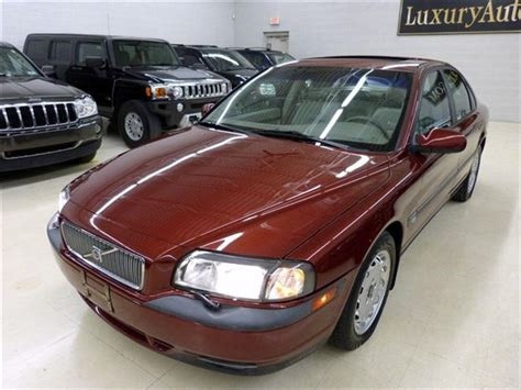 2000 Volvo S80 Tire Size 2000 Used Volvo S80 4dr Sedan 2 9l At Luxury Automax