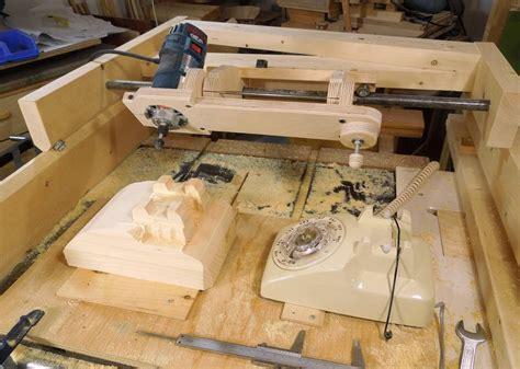 Mesin Dremel Copying Carving A Rotary Phone