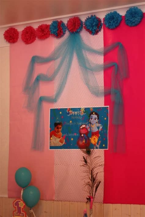 krishna themes with tone little krishna theme cake cutting backdrops pinterest