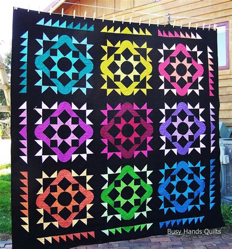 Summer Quilts On Sale Busy Quilts Summer Solstice The Rainbow Version