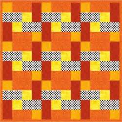 Found time to create a pdf for the easy firefighter baby quilt pattern