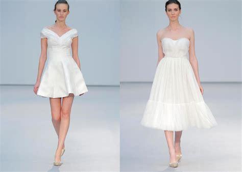 vestido corto de novia vestidos cortos de novia hogarmania
