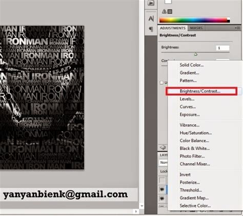 tutorial desain grafis photoshop cs2 tutorial photoshop membuat typography potrait dengan