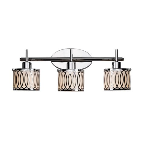 Chrome Bathroom Lights Bel Air Lighting 3 Light Polished Chrome Bathroom Vanity Light Lowe S Canada
