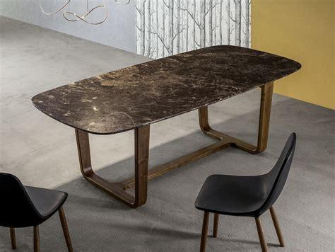 tavoli di marmo medley tavolo in marmo by bonaldo design alessandro busana