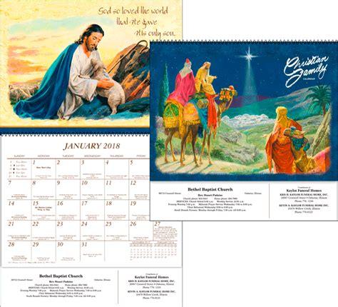 2018 christian family calendar kellmark corporation