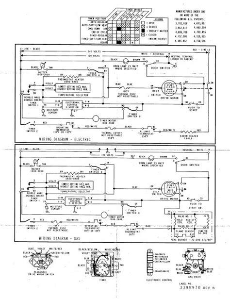 kenmore dryer model 110 graphic kenmore 60 series