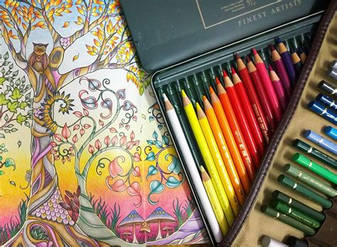 Magical Garden Coloring Book Finished