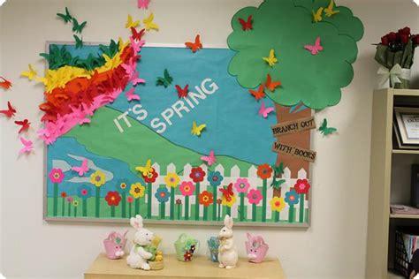 spring ideas cute spring bulletin board idea