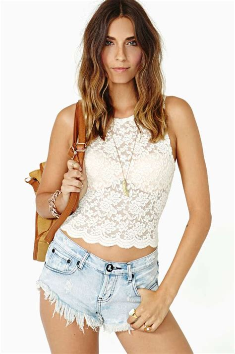 17 best images about video on pinterest cropped shirt top 17 pretty lace crop top designs famous fashion list