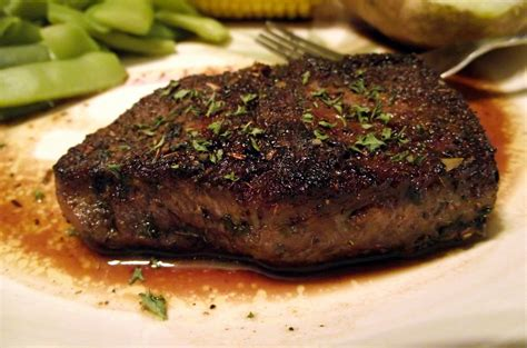 herbed steak with balsamic sauce andrea s healthy living
