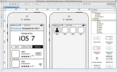 Room Designing App appware how to wireframe app concepts like a pro