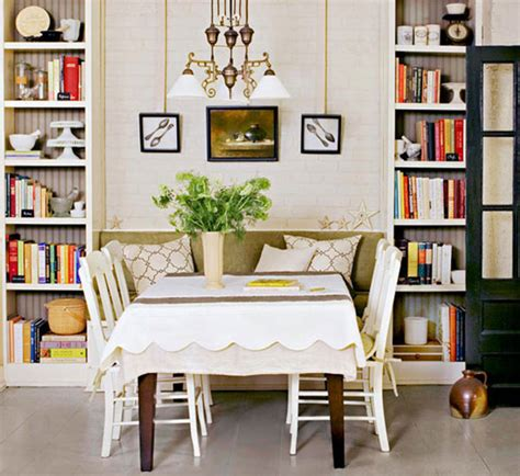 Small Dining Room Library 5 Tips To Entertaining Big In A Small Space Home Stories