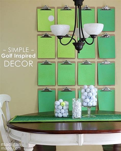 35 best diy golf images on golf decorations