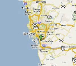 map vista california chula vista california map