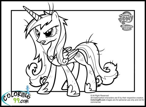 princess cadence coloring pages team colors