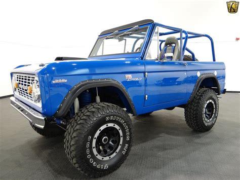 blue bronco car 1969 ford bronco 1002 miles blue suv 302 cid v8 c4 3 speed