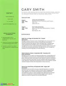 use these successful accounting resume sles 2016