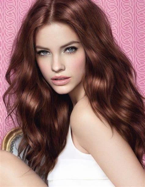 the color auburn auburn hair color style samba