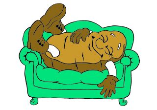 couch potato clipart are you tired revvin it up