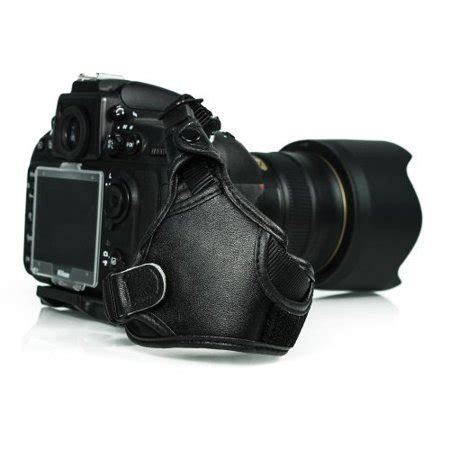 foto tech professional leather wrist grip for nikon d5 d500 d3 d3s d4 d800