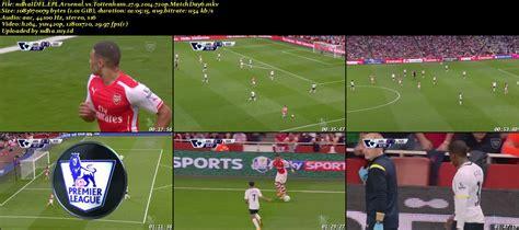 arsenal full match full match epl arsenal vs tottenham hotspur matchday 6 27