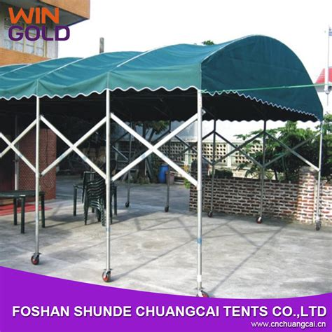 Canvas Carports For Sale canvas carport green fodable carport with wheels for sale 103742862