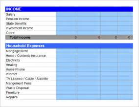 simple annual budget template expense report 11 free word excel pdf documents free