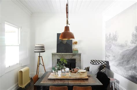 Dining Room Near Fireplace The Estate Trentham Scandinavian Interior By Gardener Marks