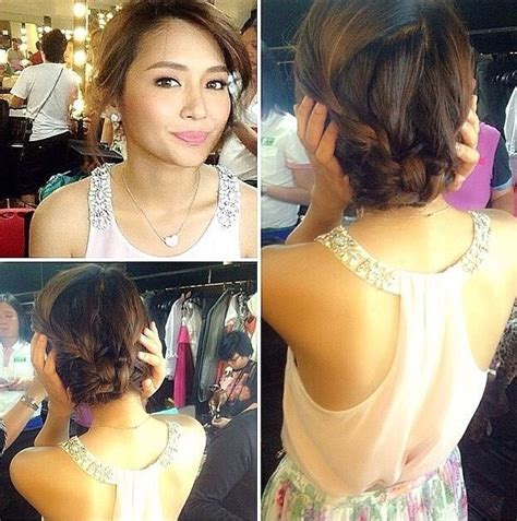 kathrine bernardo debut hairstyle with makeup 35 best images about kathryn bernardo on pinterest