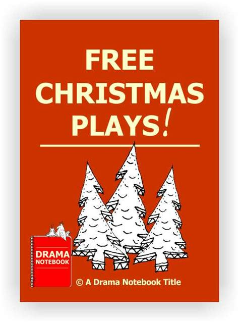 free christmas skit for kids plays drama notebook