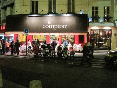 le comptoir odeon le comptoir from across the picture of le