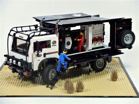 rally mini truck dakar truck the lego car