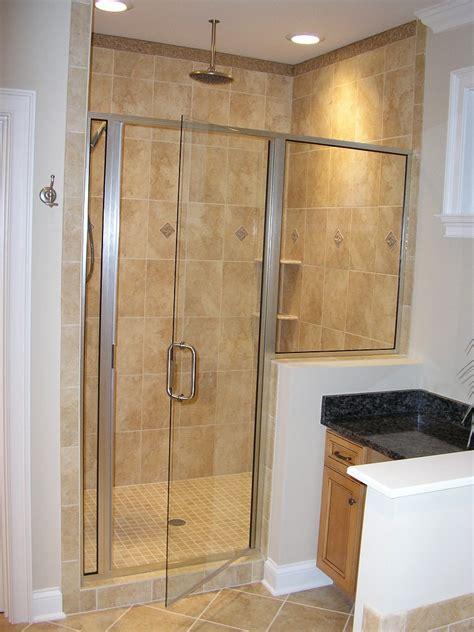 Home Features Tile Shower Doors