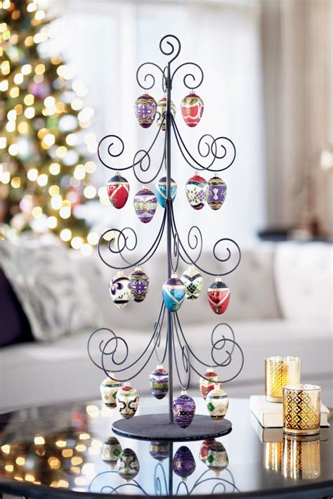 pinterest how to make a tree ornament from a tea cup saicer display your most cherished ornaments on an ornament tree holiday2012 homedecorators