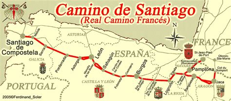 camino de santiago map sakyadhita awakening buddhist a buddhist pilgrimage and the way of