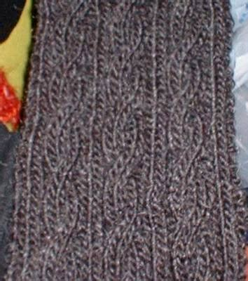 Collection Of Knit O Matic News Free Basic Cabled Scarf Pattern