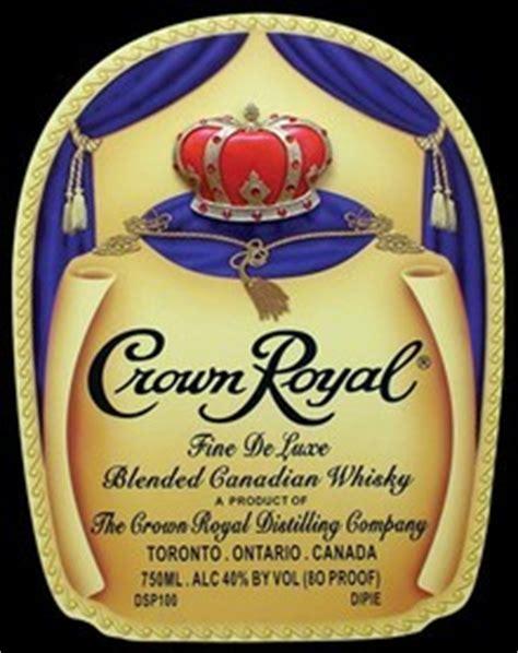 crown liquor label liquor labels royals