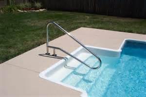 pool handrail installation land pool restoration inc land pool restoration inc